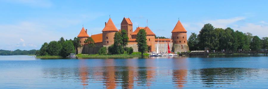 Trakai, ancienne capitale de la Lituanie